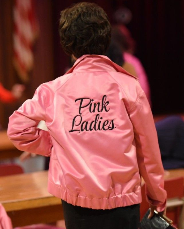 Pink Ladies Grease Live Jacket ► Free Shipping Worldwide Satin newly aired musical.