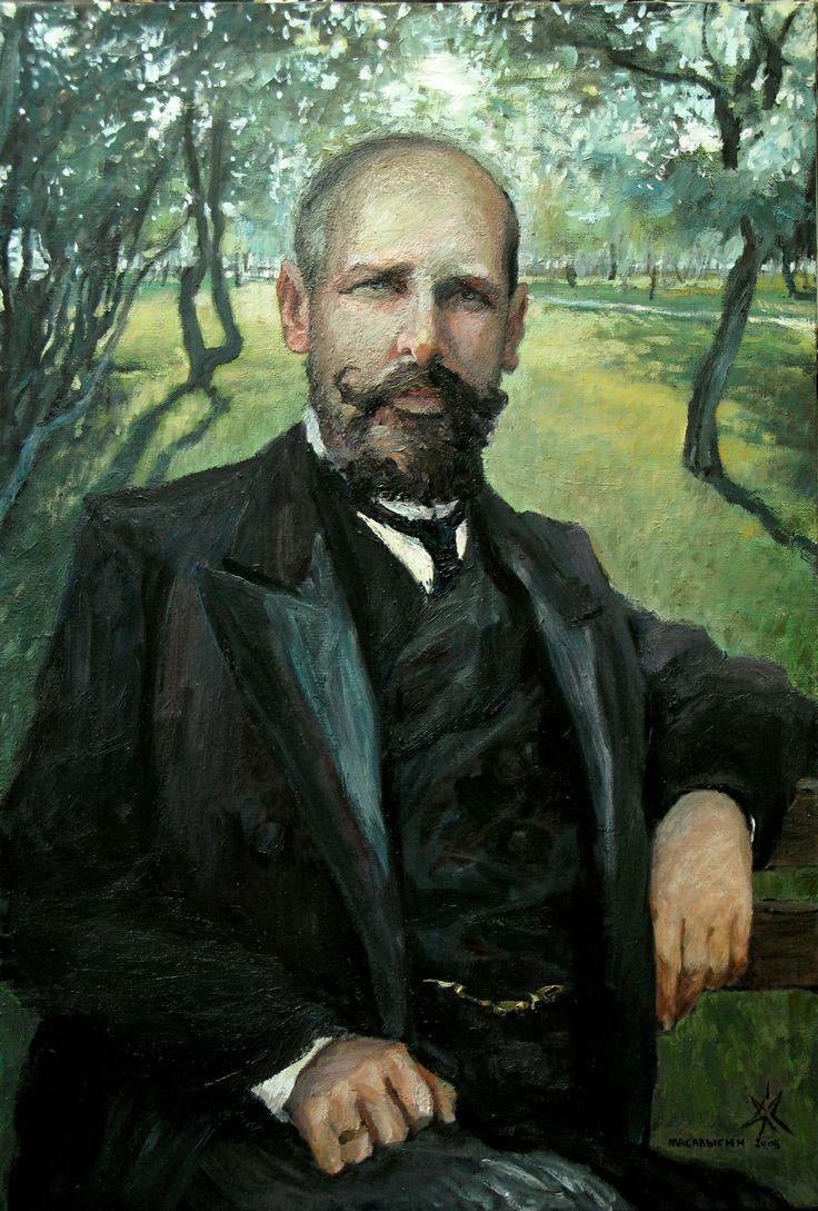 Stolypin Petr Arkadyevich. Portrait.