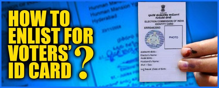 """How to get a New {""""VOTER ID CARD""""} in {""""Andhra Pradesh""""} - Election Commission of India Officials"""
