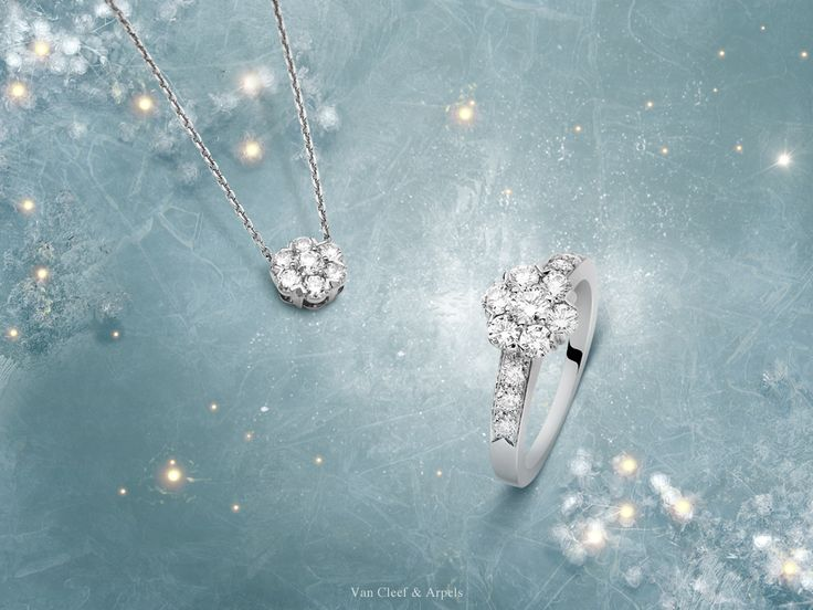 """""""Tender breeze, rise and blow Come and warm the icy snow Let the smallest flowers grow!"""" Discover the Fleurette collection that embodies a refined feminine beauty #DiamondBreeze #HolidaySeason http://goo.gl/h2CA7H"""