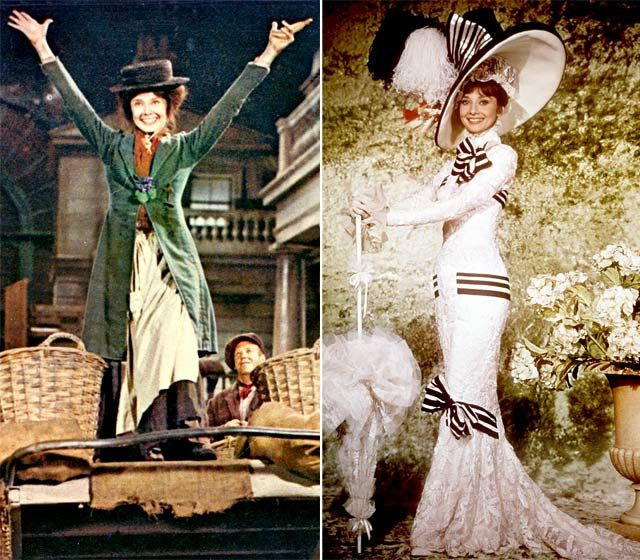 """Compare and contrast: the endings of """"Pygmalion"""" and """"My Fair Lady""""—and life"""