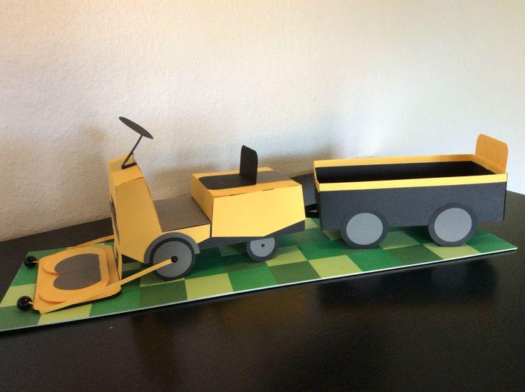 Sangskjuler Stiga have traktor By Lindberg-Design.dk