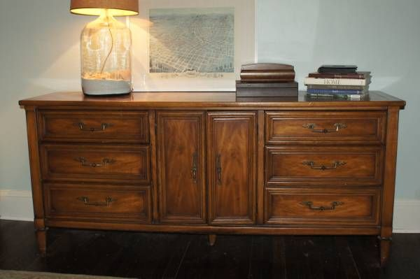 High Quality Solid Wood Dresser By White Fine Furniture In