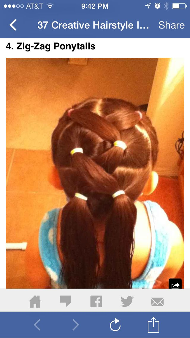 Cool hair style for girls