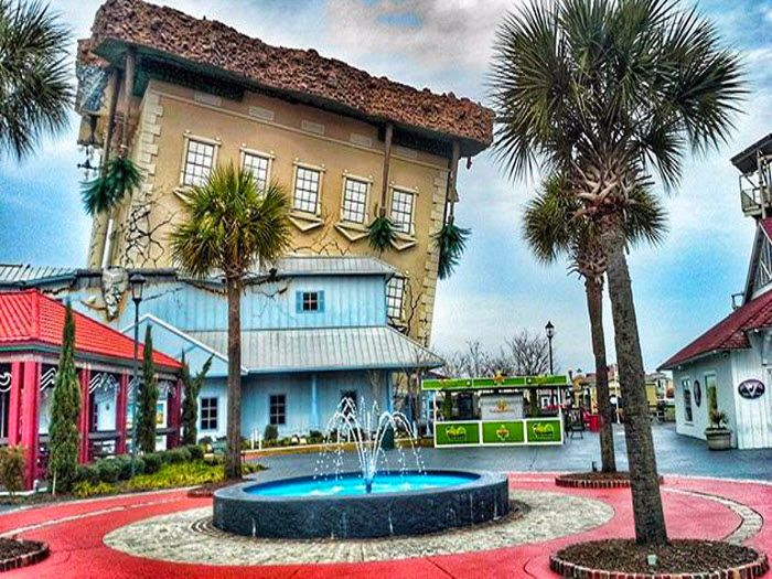 WonderWorks At Broadway The Beach In Myrtle South Carolina Its An Upside