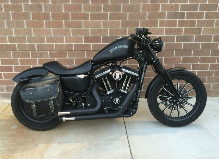 Harley Davidson Iron 883 my personal ride.