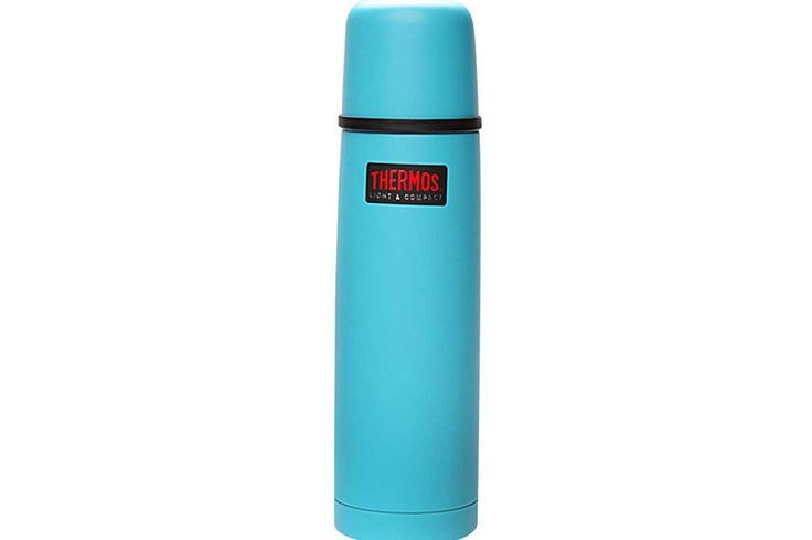 Termos LIGHT and COMPACT 0,75L turquoise - DECO Salon. Thermos is very comfortable and lightweight - weighs only 550g.