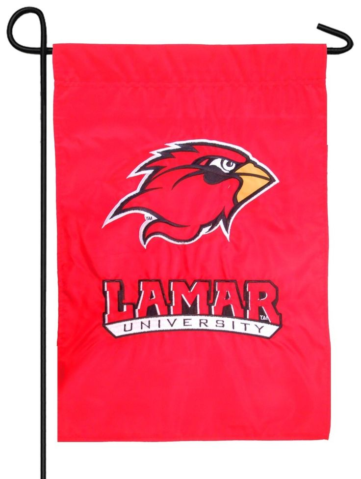 IAmEricas Flags - Lamar University Applique Garden Flag, $15.00 (http://www.iamericasflags.com/products/lamar-university-applique-garden-flag.html)