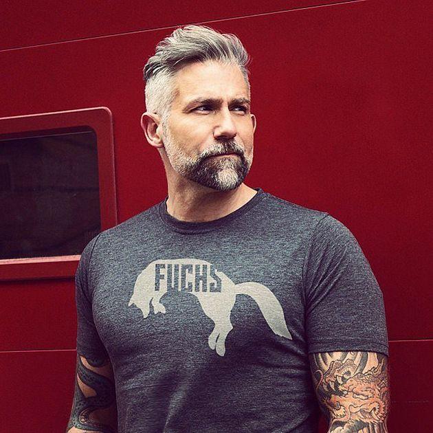 Cheveux gris pour hommes