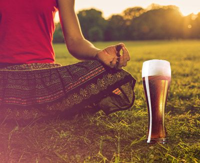 Yoga Beer, the new energising experience