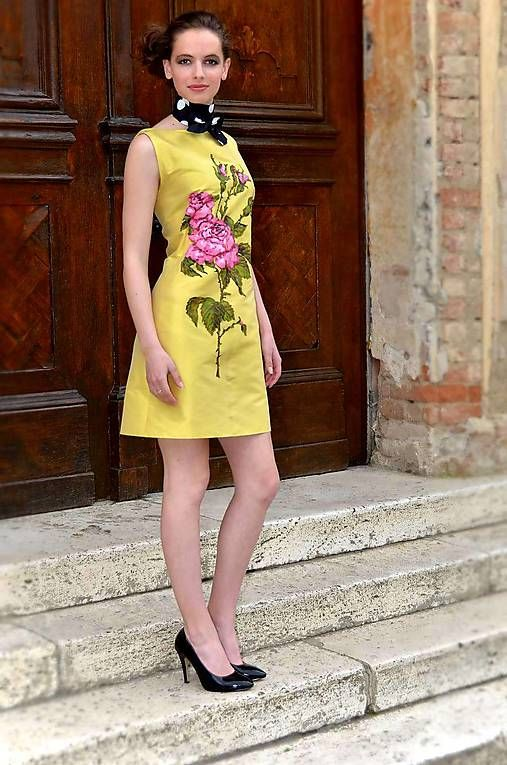 Angeli / Hodvábne maľované šaty-ZĽAVA 30%!!!