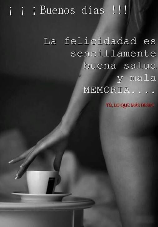 Buena salud y mala memoria