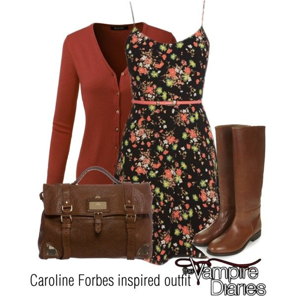 Caroline Forbes Inspired Outfit Tvd Rome Outfits