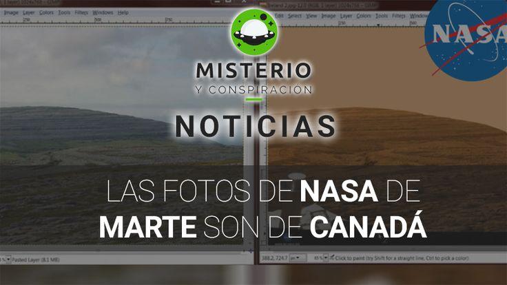 Las #FotosDeNASA de #Marte son de #Canadá - http://www.misterioyconspiracion.com/las-fotos-nasa-marte-canada/