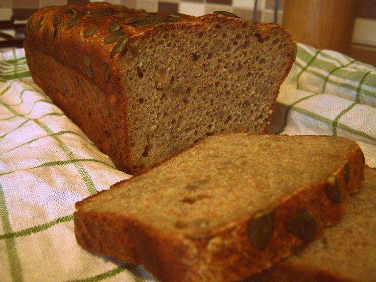 Slnečnicový chlieb pre zaneprázdnených