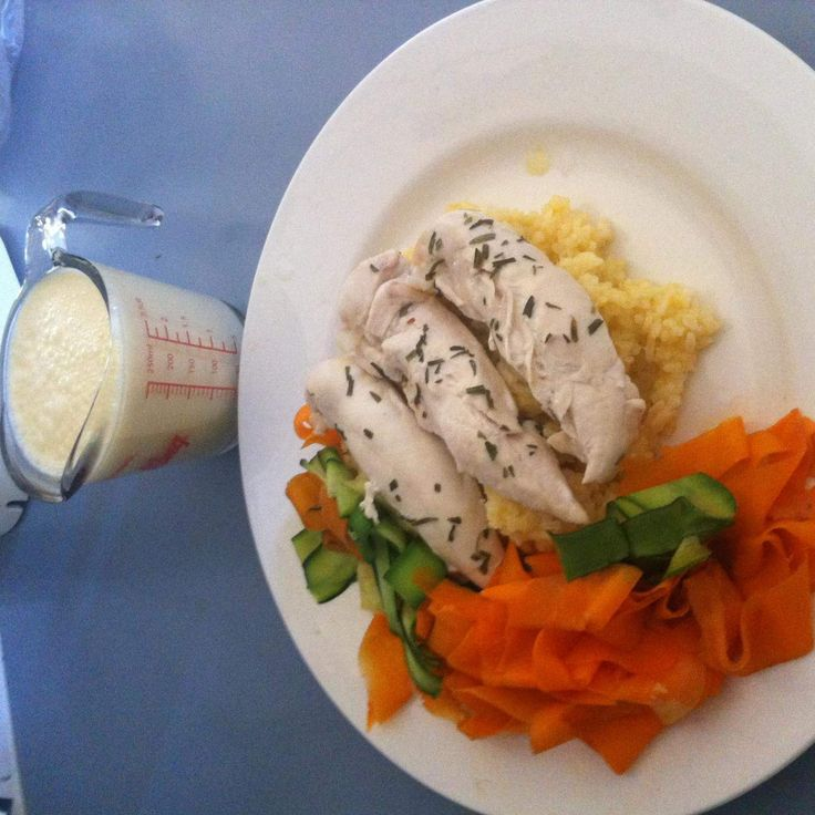Steamed Chicken with Veloute Sauce