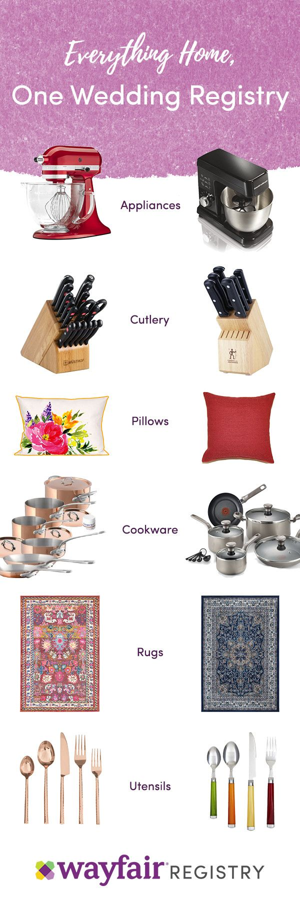 Best 25 best wedding registry ideas on pinterest for Unique wedding registry sites