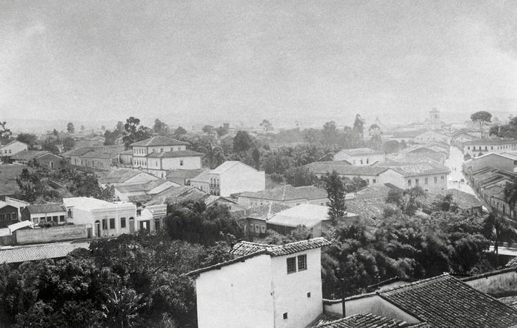 Bairro de Santa Ifigênia, 1887. (Militão Augusto de Azevedo)
