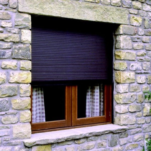The SeceuroShield 150 security shutter is for low to medium risk applications. The slat is lightweight with a foam filled core with limitations on width less than many of the others.  http://www.samsondoors.co.uk/product_details2/sws-seceuroshield-150-electric-steel-security-shutters-roller/g/1001