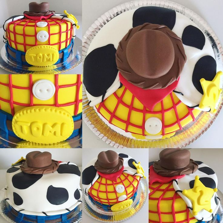 Torta WOODY de Toy Story #cake #cakedesign #toystory #woody #woodytoystory…