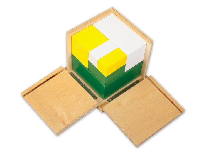 Montessori Powers of Two Cube $26