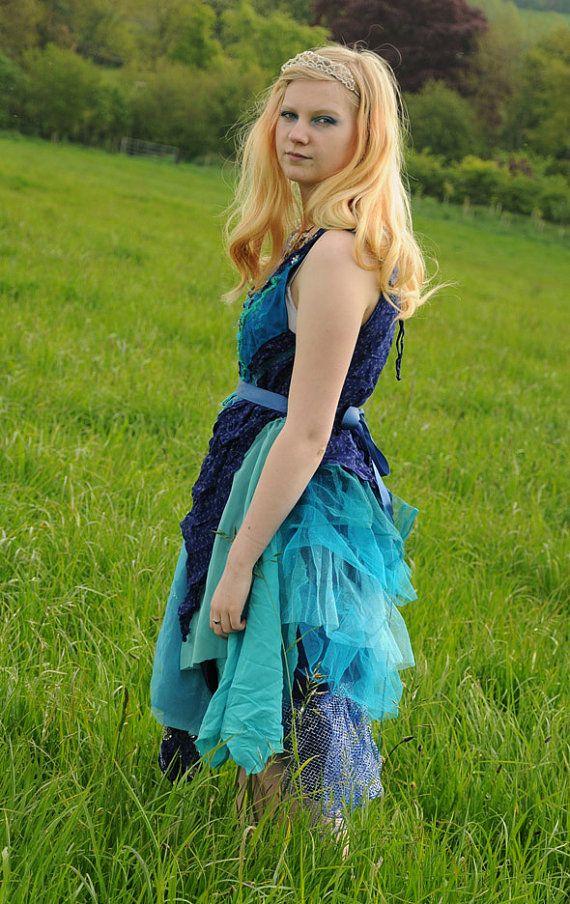 Silk Mermaid Costume Ocean Fairy Dress Mermaid Dress  sc 1 st  Meningrey & Mermaid Fairy Costume - Meningrey
