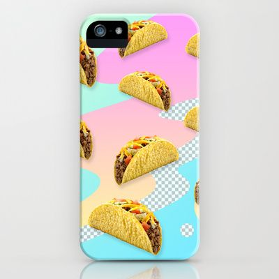 Taco Time iPhone & iPod Case by 99centbrains - $35.00