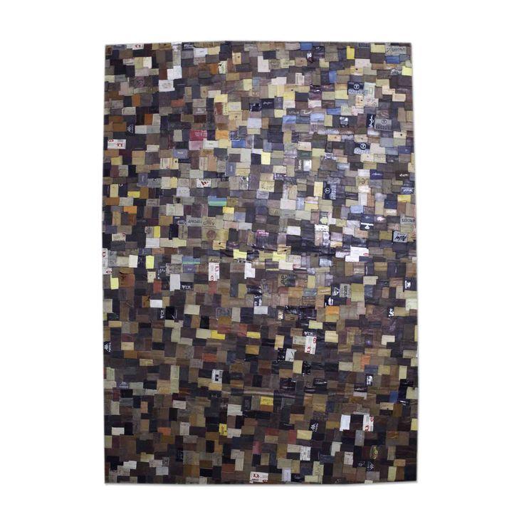 Carpet Labels - brown
