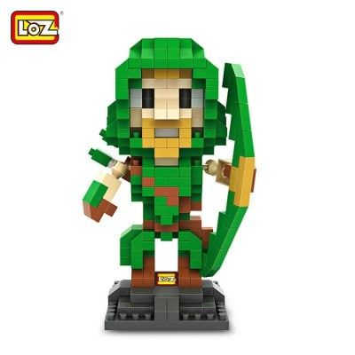 #Gearbest LOZ 340Pcs L - 9521 Arrow Action Figure Building Block Educational Toy for Brain Thinking (268519) #SuperDeals