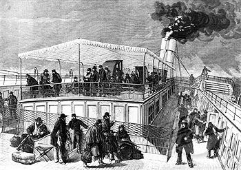 Sir Henry Bessemer was a businessman and often traveled to Europe. Everything would be fine, but at the end of the 19th century, to get from England to the continent he could only go by steamboat.