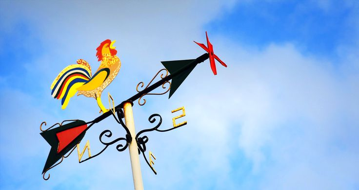 A weathervane with a rooster is a common sight and one of the oldest symbols adorning rooftops everywhere. But why a rooster? The answer may surprise you!