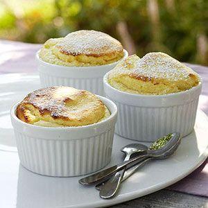 Easy Lemon Souffles