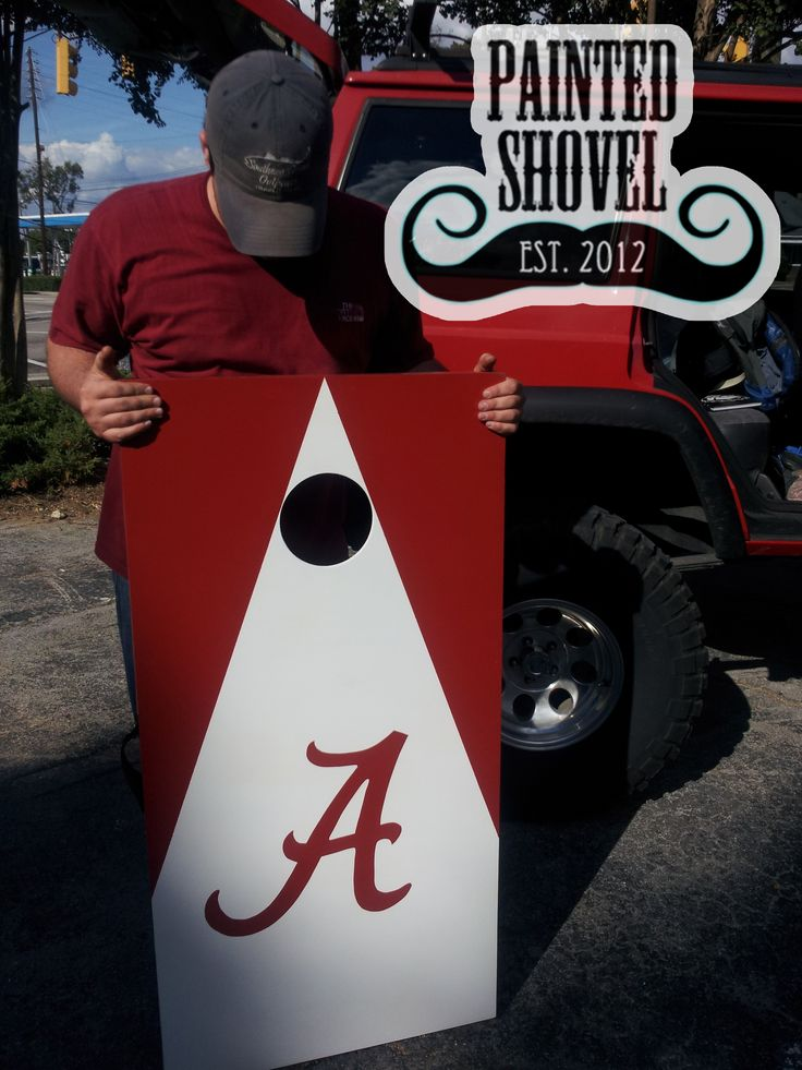 Alabama cornhole game sets for sale at Painted Shovel in Avondale, AL.