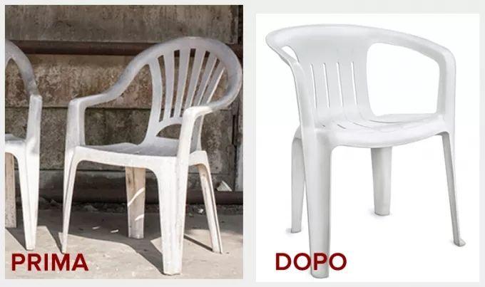 Le Sedie di Plastica e il Tavolo da Giardino sembrano ormai da buttare? Ecco come farli tornare nuovi