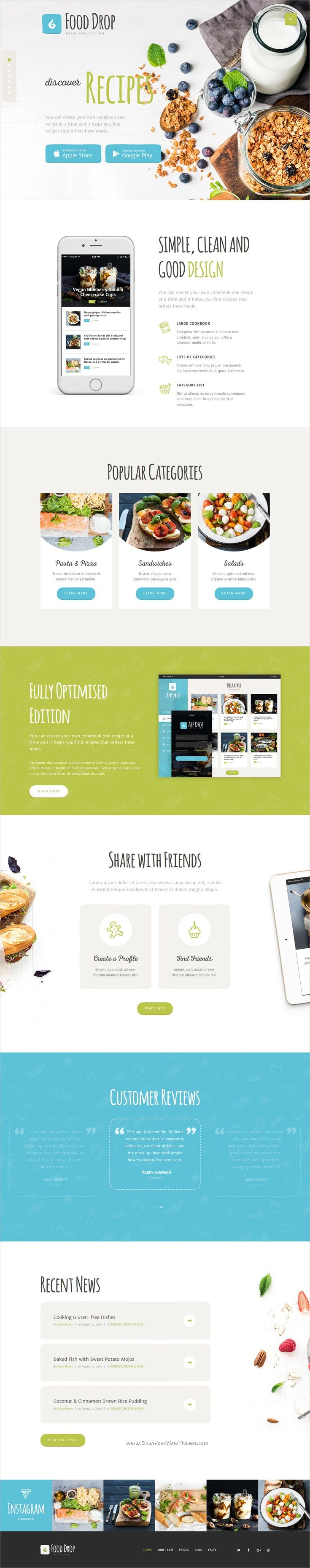 Food Drop is a stylish and powerful #WordPress theme created for online #food ordering and food #delivery application websites download now➩ https://themeforest.net/item/food-drop-food-ordering-delivery-app/19357492?ref=Datasata