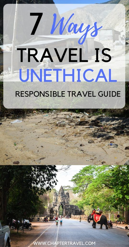 In this article we discuss responsible travel and how travel can be unethical | Responsible Travel | Travel Unethical | Animal Tourism | Bad Tourism Practices | How to Travel Responsibly | Carbon Offsetting | Local Cultures | Cycle of Poverty |