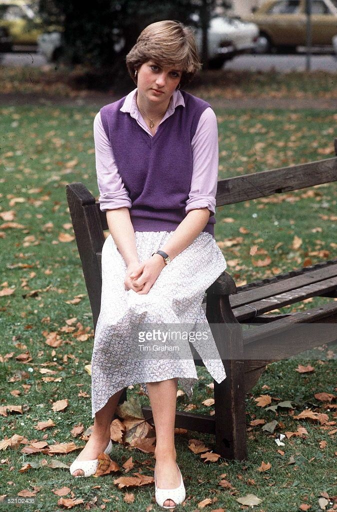 September 17, 1980: Lady Diana Spencer Age 19 At The Young England Kindergarden School At St.saviours Church Hall St. Georges Sq In London's Pimlico. She Is Working There As A Nursery Assistant.