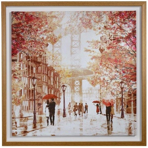 Arthouse Paris In Autumn Canvas / Artisan Romantic Scene (€29) ❤ liked on Polyvore featuring home, home decor, wall art, canvas wall art, paris home decor, paris canvas wall art, parisian wall art and autumn home decor