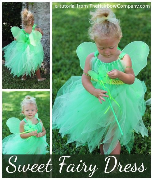 Fairy Tutu Dress Tutorial