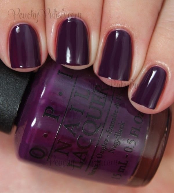 OPI Skating On Thin Ice-Land | Fall 2014 Nordic Collection | Peachy Polish