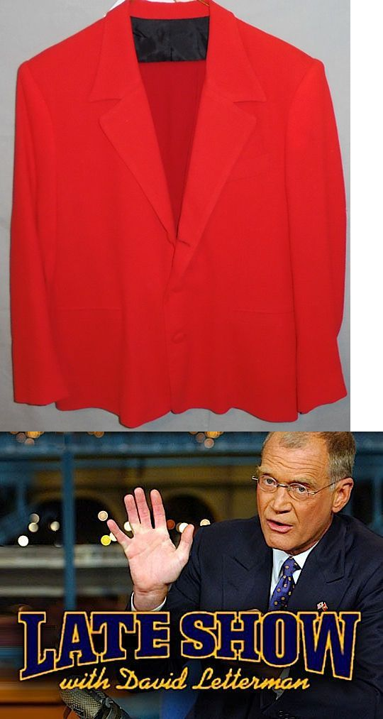 Hillary Clinton: Rare -Hillary Clinton- Late Show With David Letterman Screen Used Prop Costume BUY IT NOW ONLY: $19.99