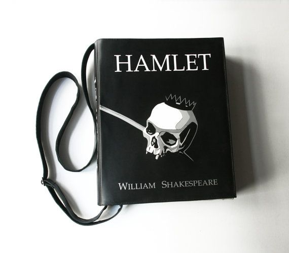 Hey, I found this really awesome Etsy listing at https://www.etsy.com/listing/482740791/sale-hamlet-book-bag-shakespeare-book