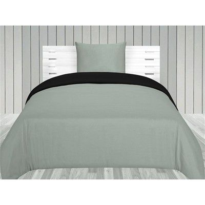 #Today parure da letto 2 pezzi grigio Casa  ad Euro 30.00 in #Fodera per piumino #Biancheria da letto