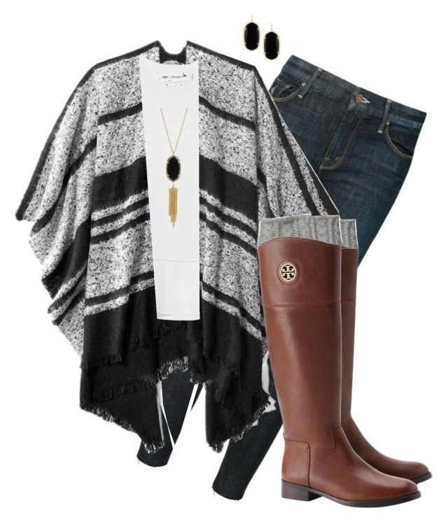 the rest of the world was blank and white... by simplysarahkate on Polyvore featuring polyvore fashion style Victoria, Victoria Beckham Old Navy Mother Steve Madden Tory Burch Kendra Scott clothing