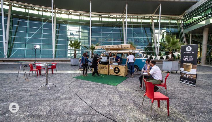 Ministro del café. Santiago. Chile. Coffee, tea, vw, Volkswagen, kombi, combi, kleinbus, Foodtruck, food, truck, cookie cup, tvn, bdat, live.