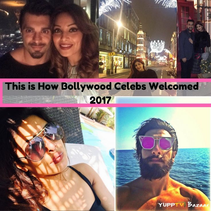 Bollywood celebs had a blast in the new year.