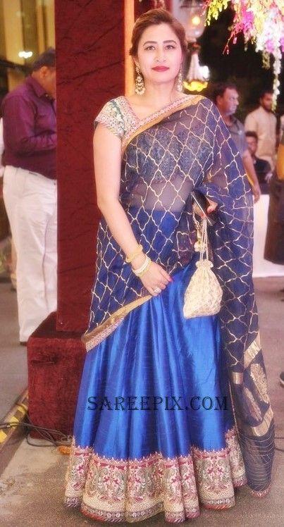 jwala gutta in lehenga at Sania Mirza sister wedding reception