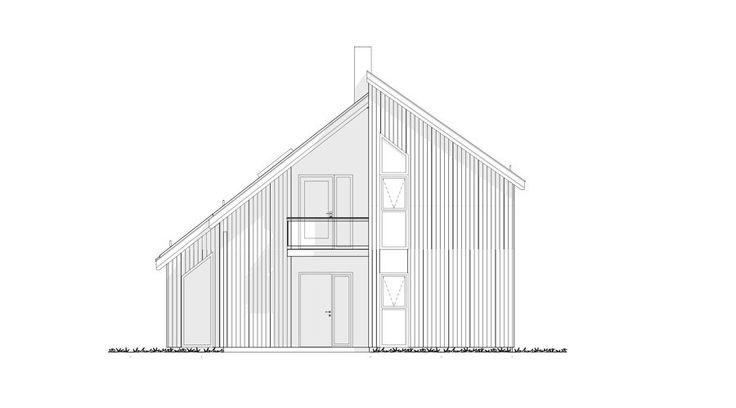 Fasade Nova - et kataloghus fra Norgeshus.
