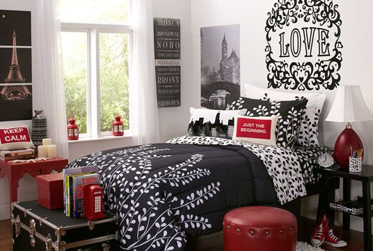 28 best college bedding sets images on pinterest college dorm rooms dorm bedding and dorm for College bedroom furniture sets