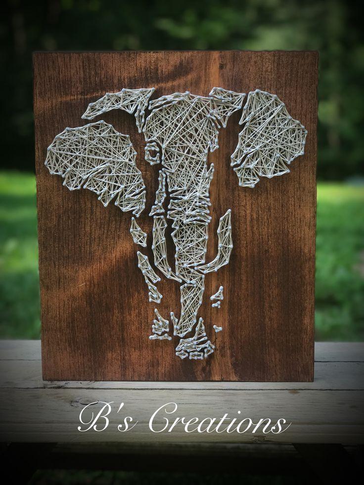 String art elephant 463 best String Rope